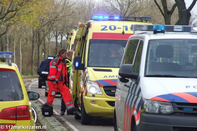 Ernstig ongeval op fietspad tussen Halsteren en Tholen