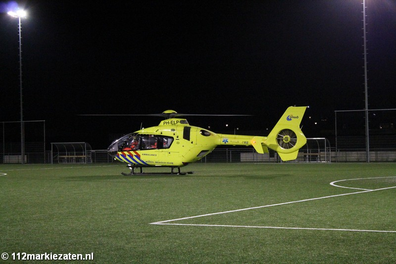 Traumahelikopter ingezet in Tholen, slachtoffer met traumahelikopter mee