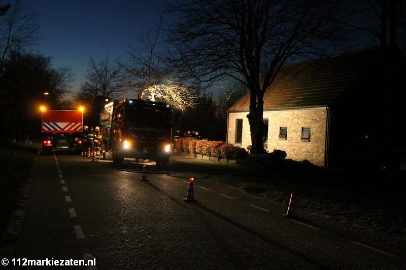 Flink schade in woning door brand in Ossendrecht, frietpan was de oorzaak