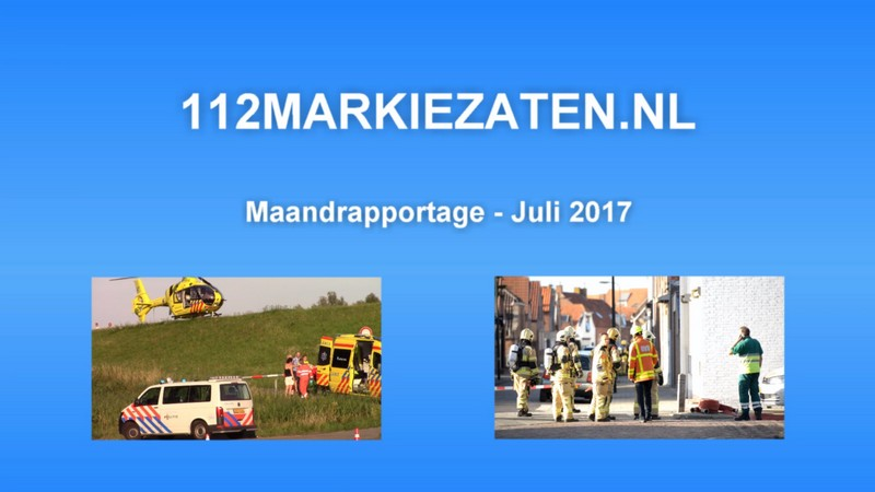 Maandrapportage - Juli 2017