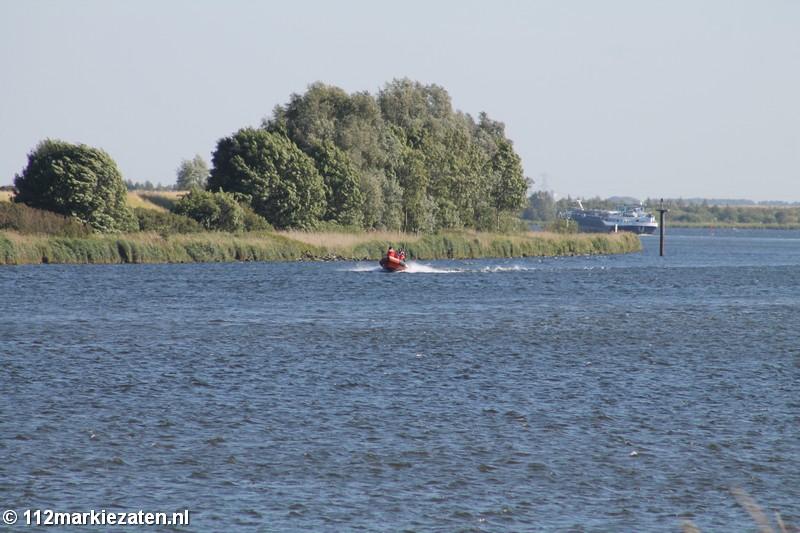 Brandweer Tholen rukt uit met brandweerboot voor incident op Schelde Rijn