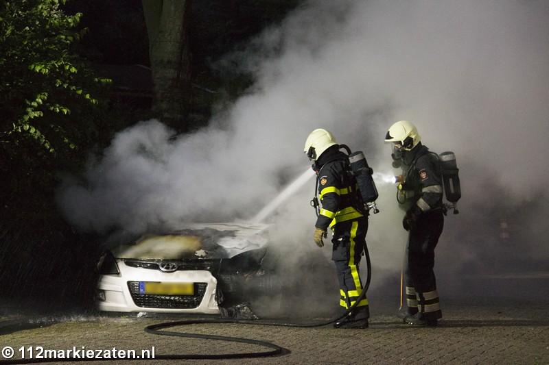 Weer autobrand in Halsteren, politie zoekt getuigen