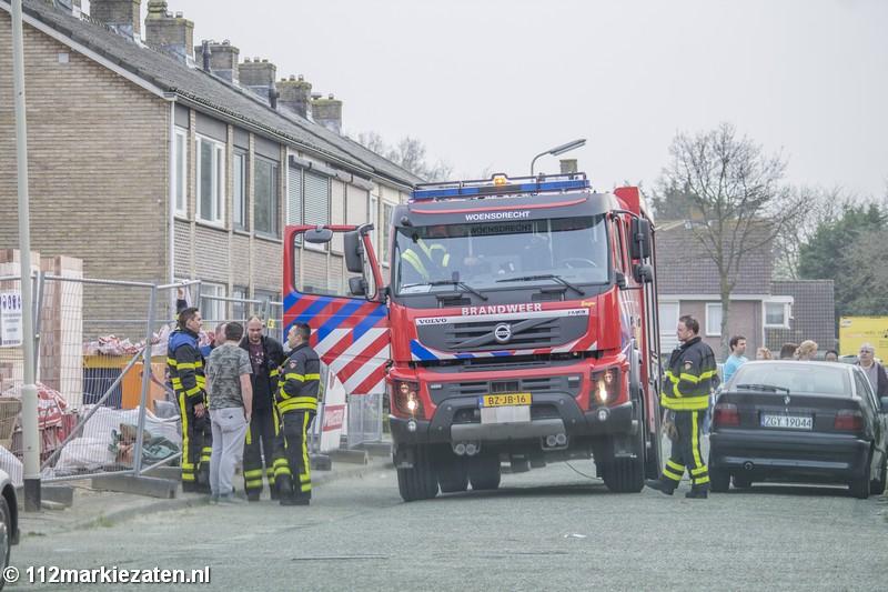 Man onderzocht bij brand in woning Hoogerheide