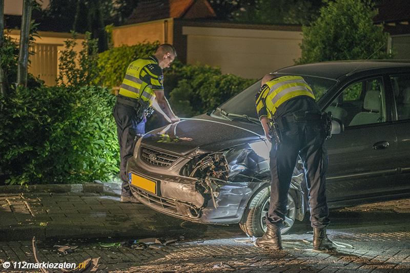 Meerdere gewonden en veel schade na aanrijding Ossendrecht