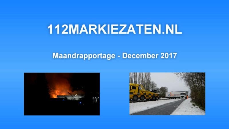 Maandrapportage - December 2017