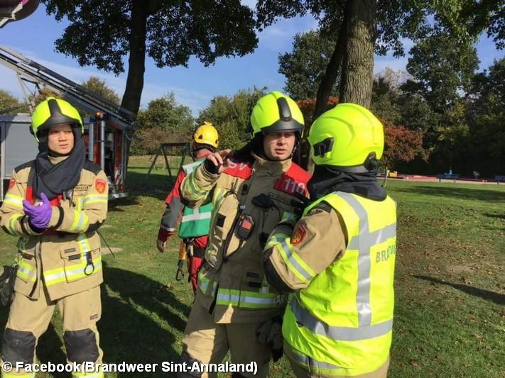 Brandweer Sint-Annaland eindigt als tweede op Zeeuwse vaardigheidstoets