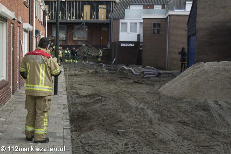 Brandweer rukt uit voor gaslek in Sint-Annaland