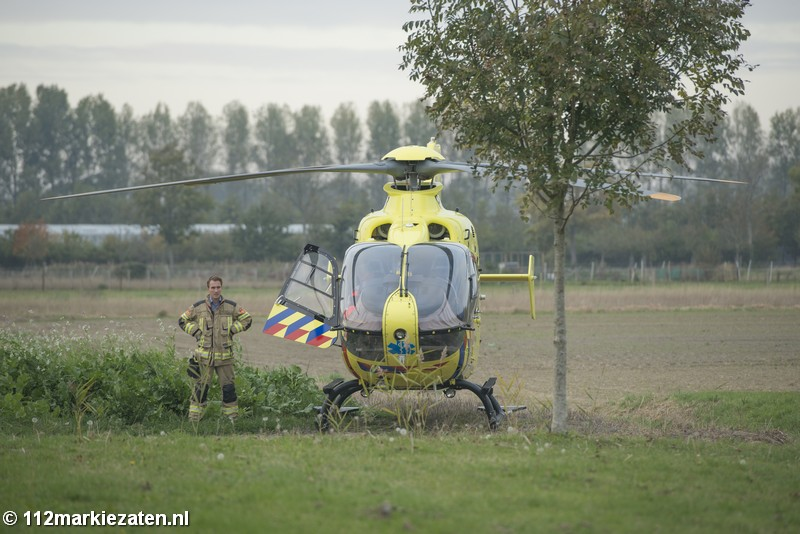 Traumahelikopter ingezet in Sint-Annaland