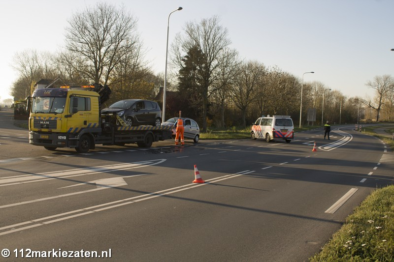 Flinke schade na ongeval bij Steenbergen, 1 gewonde