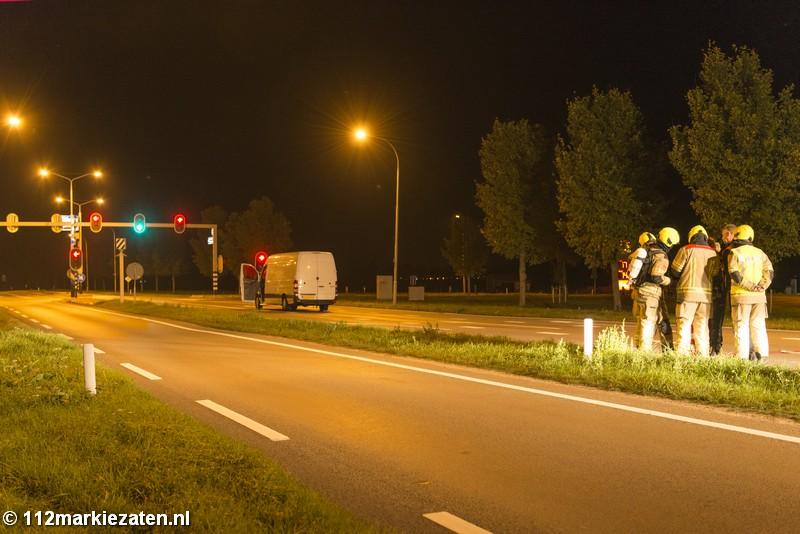 Agenten onwel na aantreffen bus met resten drugsafval in Tholen