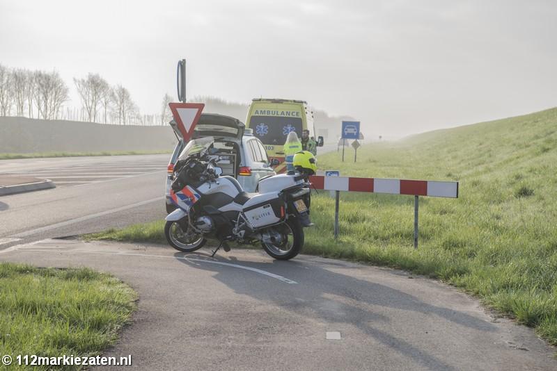 Hulpdiensten rukken groots uit voor gevonden fietser