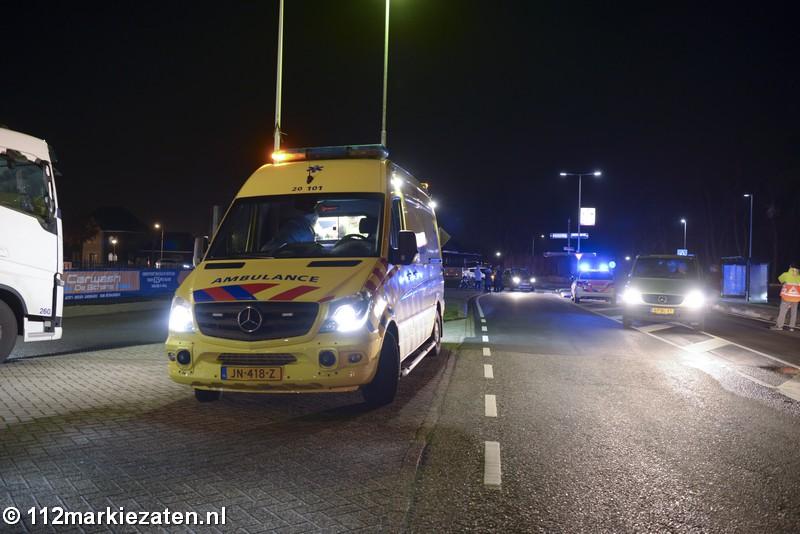 Fietser gewond na aanrijding met auto in Halsteren