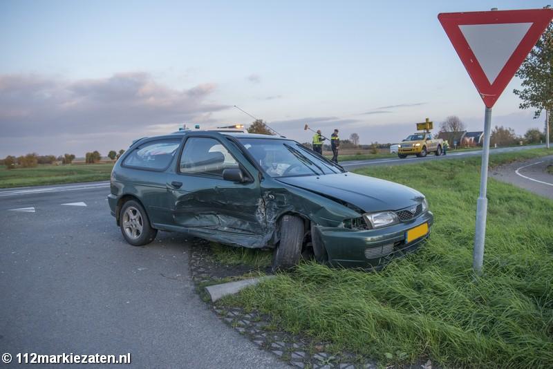 Fikse schade bij ongeval in Scherpenisse, twee gewonden