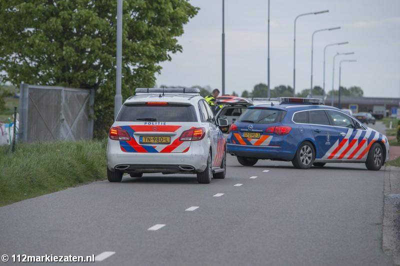 Politie rukt massaal uit voor spelend kind met balletjes pistool in Sint-Annaland