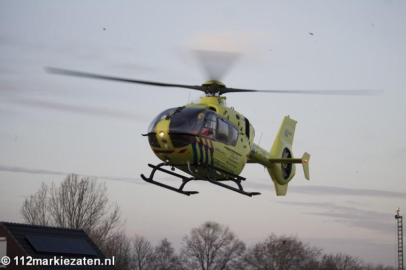 Kind valt van trap in Sint Annaland, traumahelikopter ingezet