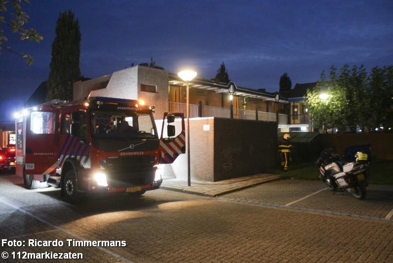 Afvalcontainer uitgebrand bij buitenbrand in Steenbergen