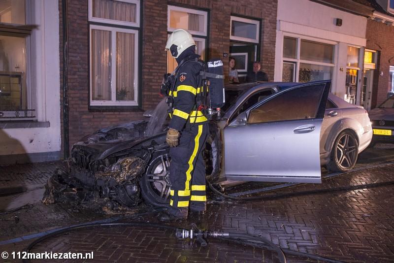 Uitgebrande auto Steenbergen had valse kentekenplaten