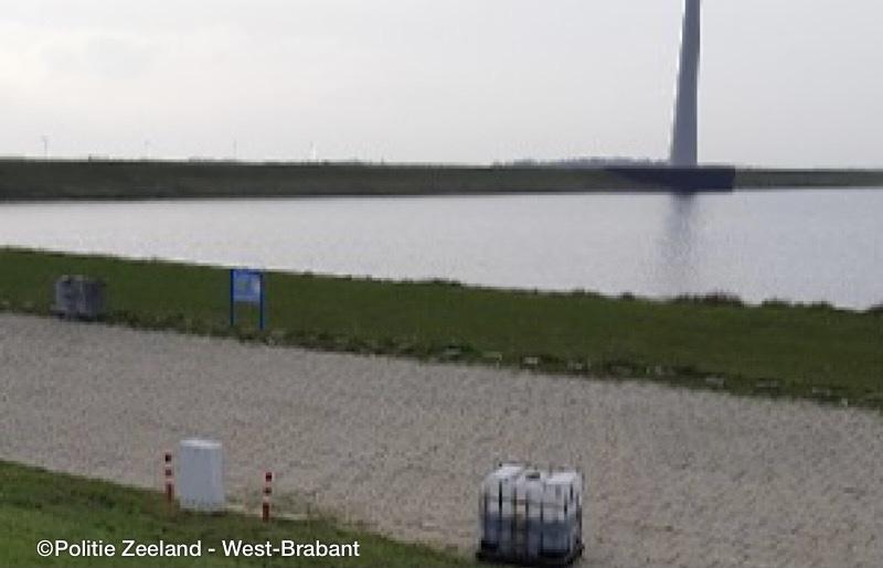 Container met drugsafval op Philipsdam, politie zoekt getuigen