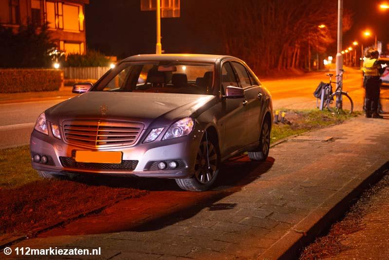 Fietser aangereden door automobilist op Halsterseweg