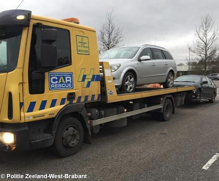 Diverse overtredingen en aanhoudingen bij verkeerscontroles in Hoogerheide