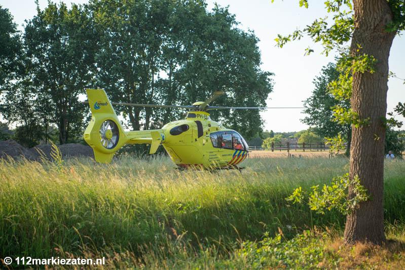 Twee gewonden bij ongeval met buggy in Ossendrecht, traumahelikopter ingezet