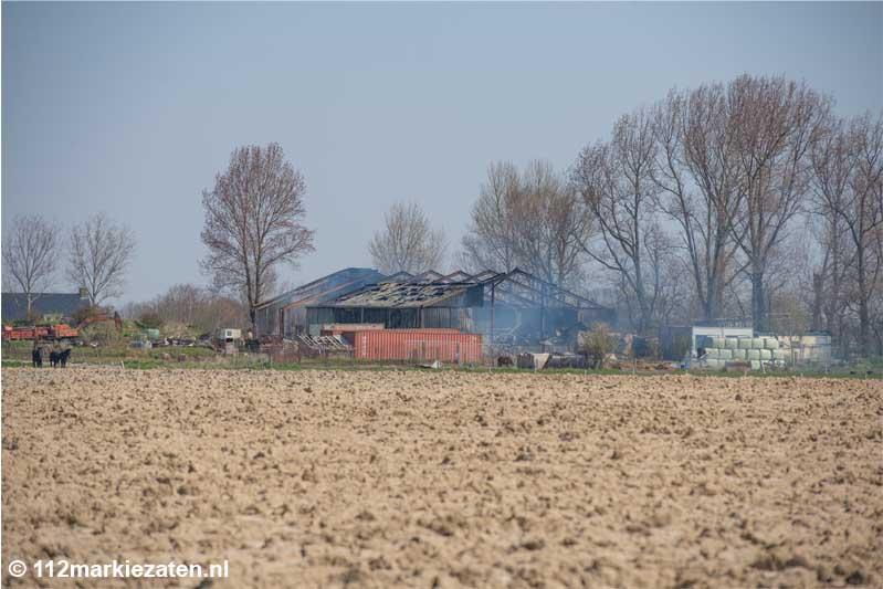 Toch twintig schapen overleden bij brand Poortvliet