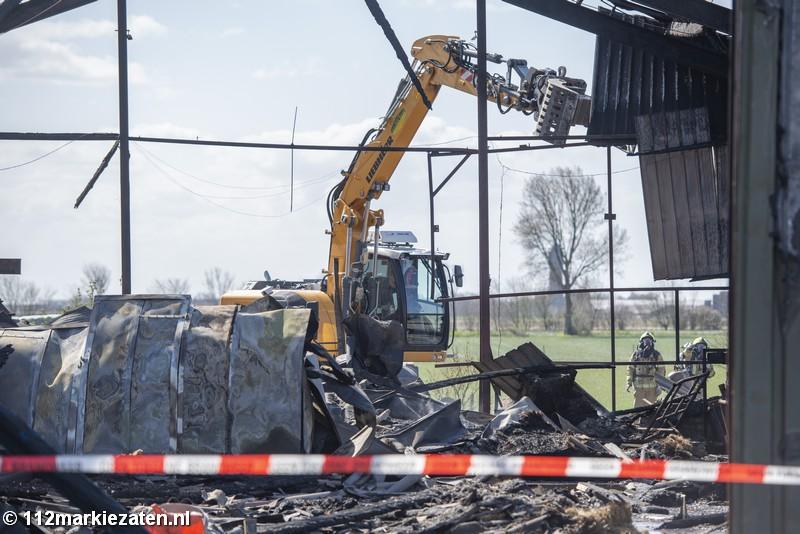 XTC-lab aangetroffen na grote brand Poortvliet, 28 schapen overleden
