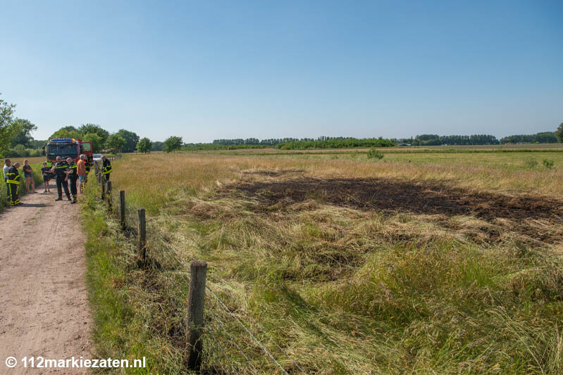 Opnieuw natuurbrand bij Steenbergen, oorzaak onduidelijk