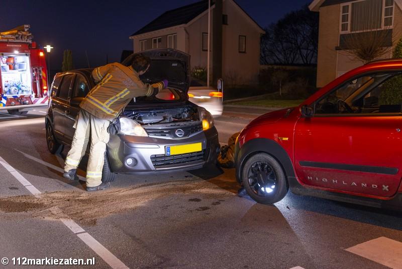 Gewonde bij aanrijding tussen personenauto en 45 km in Tholen