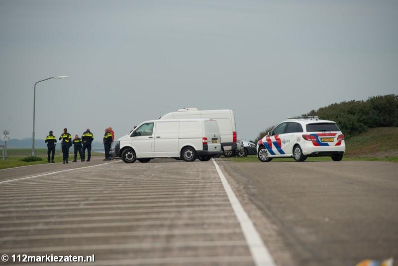 Politie vraagt informatie over overleden man bij Oesterdam via banners op smartphones