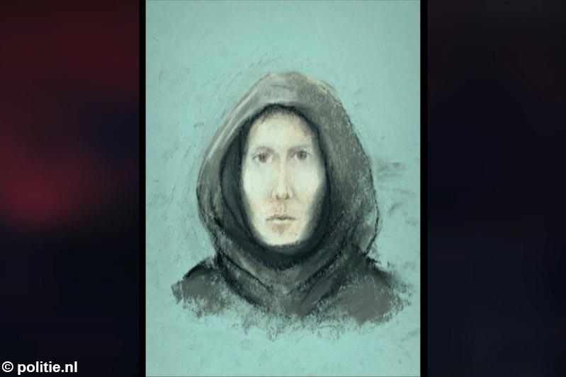 Compositietekening vrijgegeven van man die 17-jarige meisje van fiets trekt en haar probeert te verkrachten