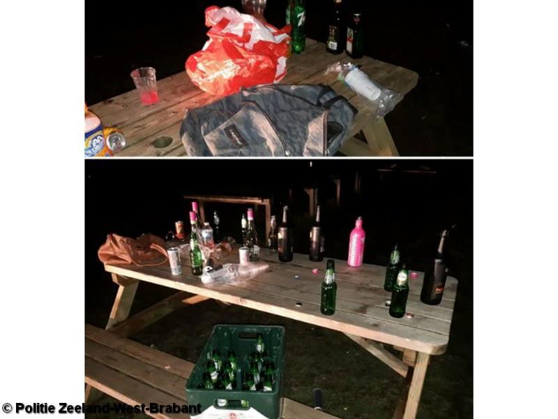 Politie maakt einde aan Coronafeestje bij Fort de Roovere