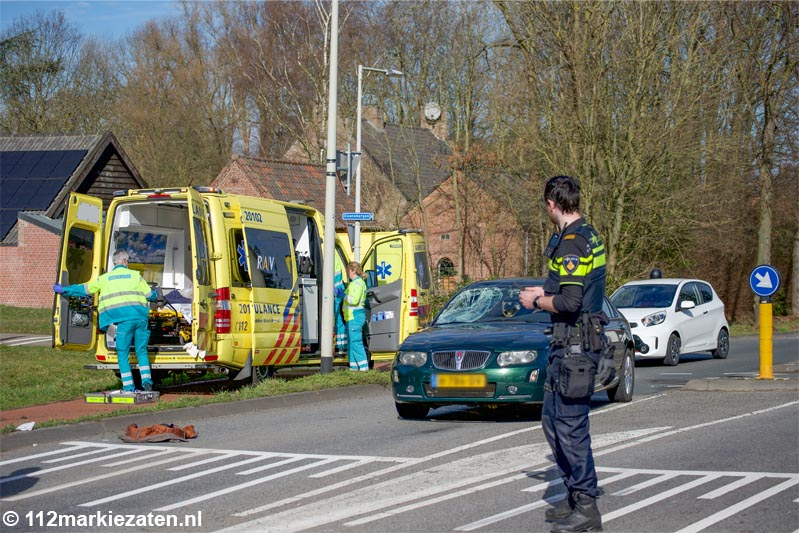 Fietser ernstig gewond na ongeval op Steenbergseweg, traumahelikopter ingezet