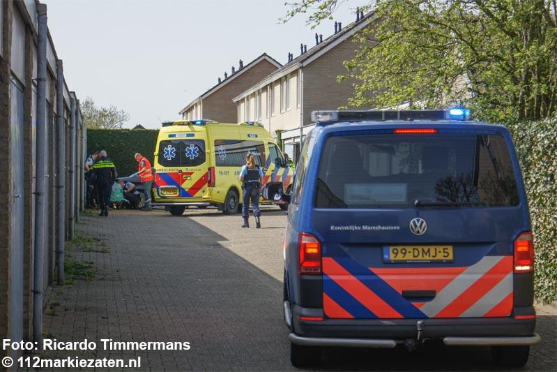 Aanrijding tussen personenauto en voetganger in Hoogerheide
