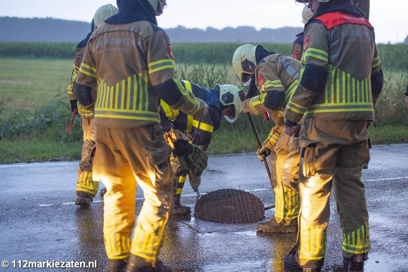 Opnieuw wateroverlast in de regio, brandweer op meerdere plaatsen ingezet