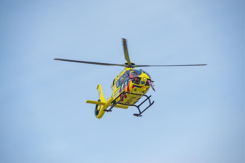 Traumahelikopter opgeroepen na steekpartij Roosendaal, verdachte opgepakt