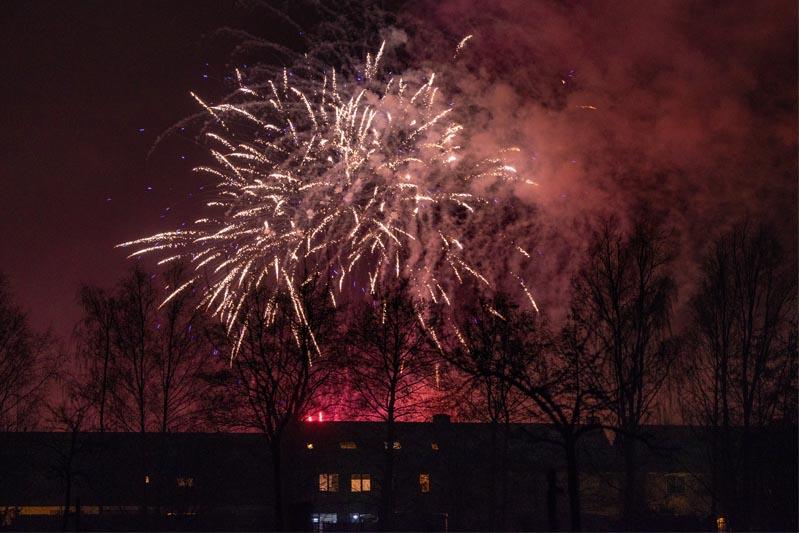 Ruim 19.000 euro vuurwerkschade rondom jaarwisseling in gemeente Steenbergen