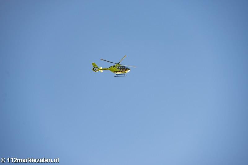 Twee duikers korte tijd in de problemen nabij de Oesterdam, traumahelikopter opgeroepen